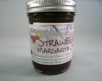 Strawberry Margarita  jam, handmade fruit spread Deliciously Sweet, homemade jam jelly fruit preserves