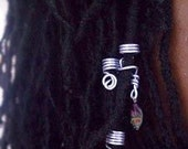Set of 3 locs jewelry