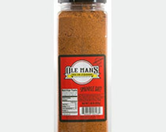 Ole Man's Spice Rub & Seasoning 1.38 LB (32 oz.)-  Original Blend-Kitchen Helper! Free Shipping