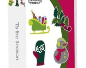TIS the SEASON - CREATIVE MEMORIEs CHRiSTMAS CRiCUT Cartridge =   ReTIRED and RaRE - Only 1 in Stock