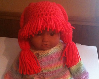 Cabbage patch style hat
