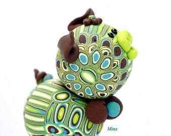 Minx Polymer Clay Pigler Figurine