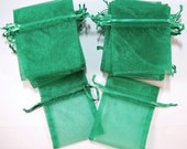 Green Organza Gift Bag St. Patricks gift bag