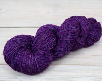 Orion - Hand Dyed Superwash Merino Wool Sport Yarn - Colorway: Jelly Bean
