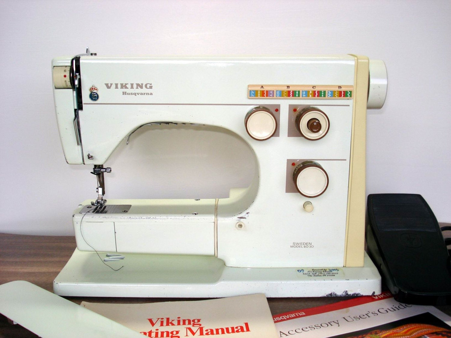 viking 6030 sewing machine