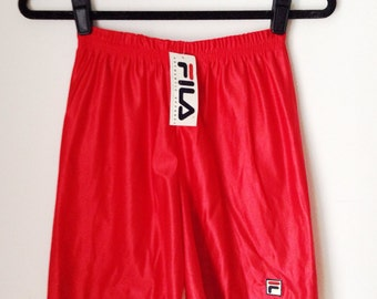 Deadstock Fila Red Athletic Shorts Boys Size Medium
