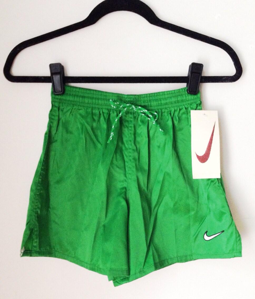 Deadstock Nike Green Athletic Shorts Boys Size Medium