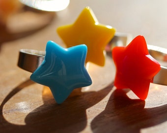 Star Ring by MillyPops - Choice of Colours Available