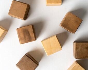60 Handmade Wooden Blocks SPECIAL Listing!