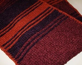 Custom Order for Tim**Season 18 Chenille Doctor Who Hand Knit Replica Scarf  Made to Order Fourth Doctor Tom Baker from Ashlee's Knits
