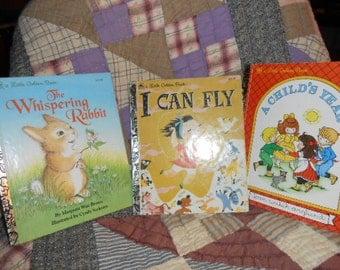 Three Little Golden Book