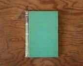 Black Beauty, illustrated // blue handmade journal // hard bound journal