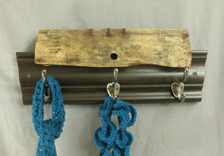 Driftwood Coat Rack Rustic Key Rack Coat Storage By