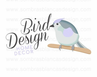 OOAK Premade Logo Design - Bird Callygraphy