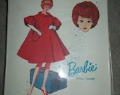 Vintage White Barbie Case for Single Doll