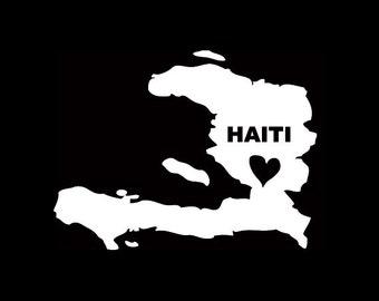 Haiti Window Decal