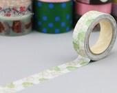 ANGOO Masking Tape - Washi Tape - Paper Tape - Masking Sticker - Deco Tape - Diary - Filofax - A030