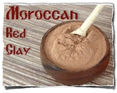 Moroccan Volcanic Red Clay - Nourishing, 1 package (150g/5.3oz)