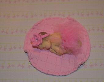 Baby Ballerina Cake topper