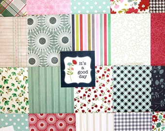 6x6 Front Porch Collection by Pebbles*46 Sheet Paper Pack*Scrapbook paper