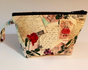 Love Letters Make Up Bag - Accessory - Cosmetic Bag