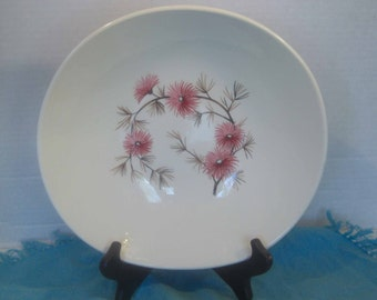 Edwin Knowles Coral Pine Pattern - Criterion Shape - Round Vegetable Serving Bowl