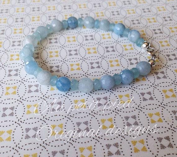 Baby Boy Gifts Jewelry : Items similar to baby bracelet birthstone jewelry