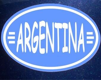 Argentina Car Magnet World Cup Olympics Car Magnet