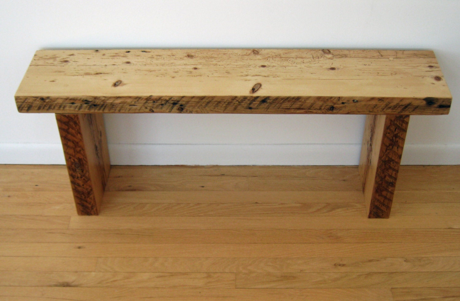 Reclaimed Wood Bench Barn Wood Barn Beams 1800s