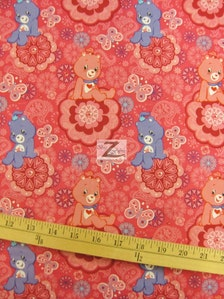 Popular Items For Care Bear Fabric On Etsy