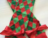 Baby Girl Leg warmers - Christmas leg warmers - Stripe Legwarmers - Christmas Legwarmers - Baby christmas outfit - red green legwarmers