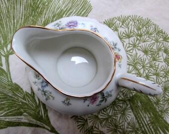 German Porcelain Floral Creamer