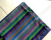Handmade Striped Japanese Cotton Napkins Set of 6