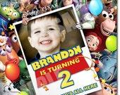 Toy Story Invitation - Printable Toy Story birthday Invitation