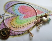 The Loving Eye Bangle, a beautiful art bracelet by jean baldridge yates