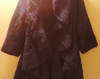 Crochet Circular Sweater One Size Fits All