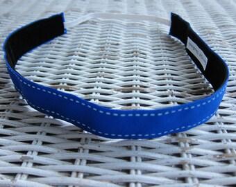 Blue Women's Headband - Girl Sports Headband