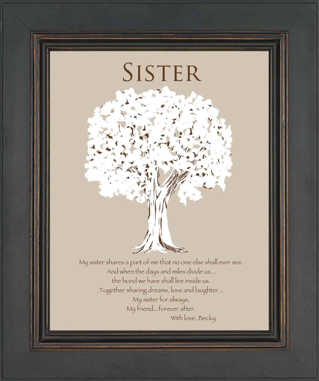 Wedding Gifts For Sisters