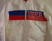 USA / United States Olympic Starter Jacket -- 1984?