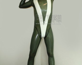 V for Victory / Man Latex Catsuit
