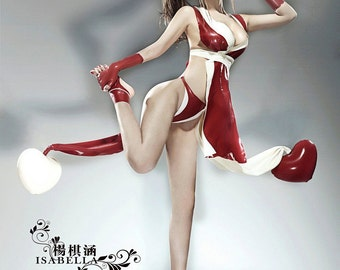Santa's Trophy Wife / Sexy Lady Santa Latex Costume