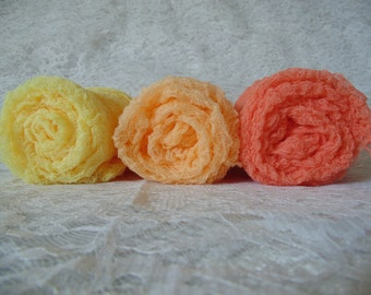 Newborn  Photography Wraps...Set of Three ...Baby Photo wraps.  Cheesecloth wraps