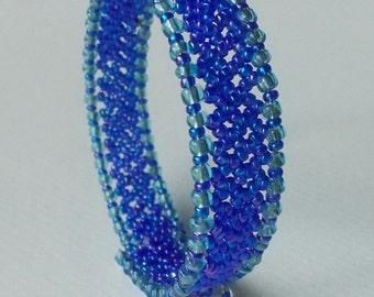 Bracelet Cuff (Blue)