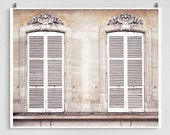 Paris photography - Time lines II.  - Paris facade,Paris photo,Fine art photography,windows,Paris decor,8x10,white,Fine art print,Art Poster