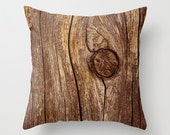 Throw Pillow Case/Cover, nature photography, fence wood wooden grain, rustic country, california, summer, macro close up