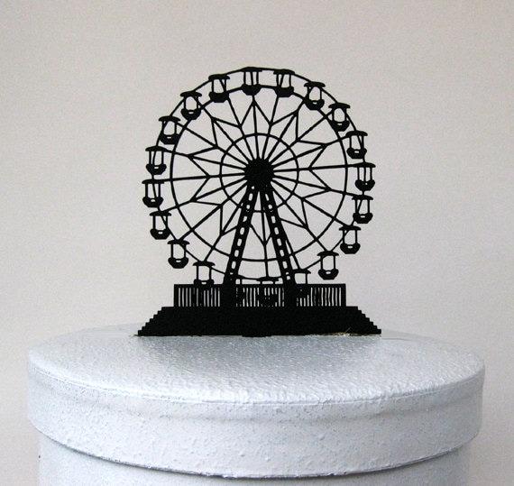 Wedding Cake Topper Ferris Wheel