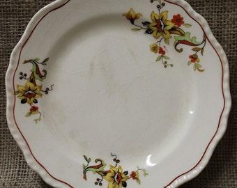 Set of 4 Vintage Porcelain Plates