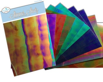 Elizabeth Craft Designs Shimmer Sheetz Sample Pack - Gemstone - SS-0228 - 10 pack