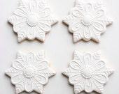 Elegant Snowflake Cookies
