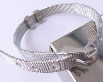 1 piece STAINLESS STEEL BAND 8mm